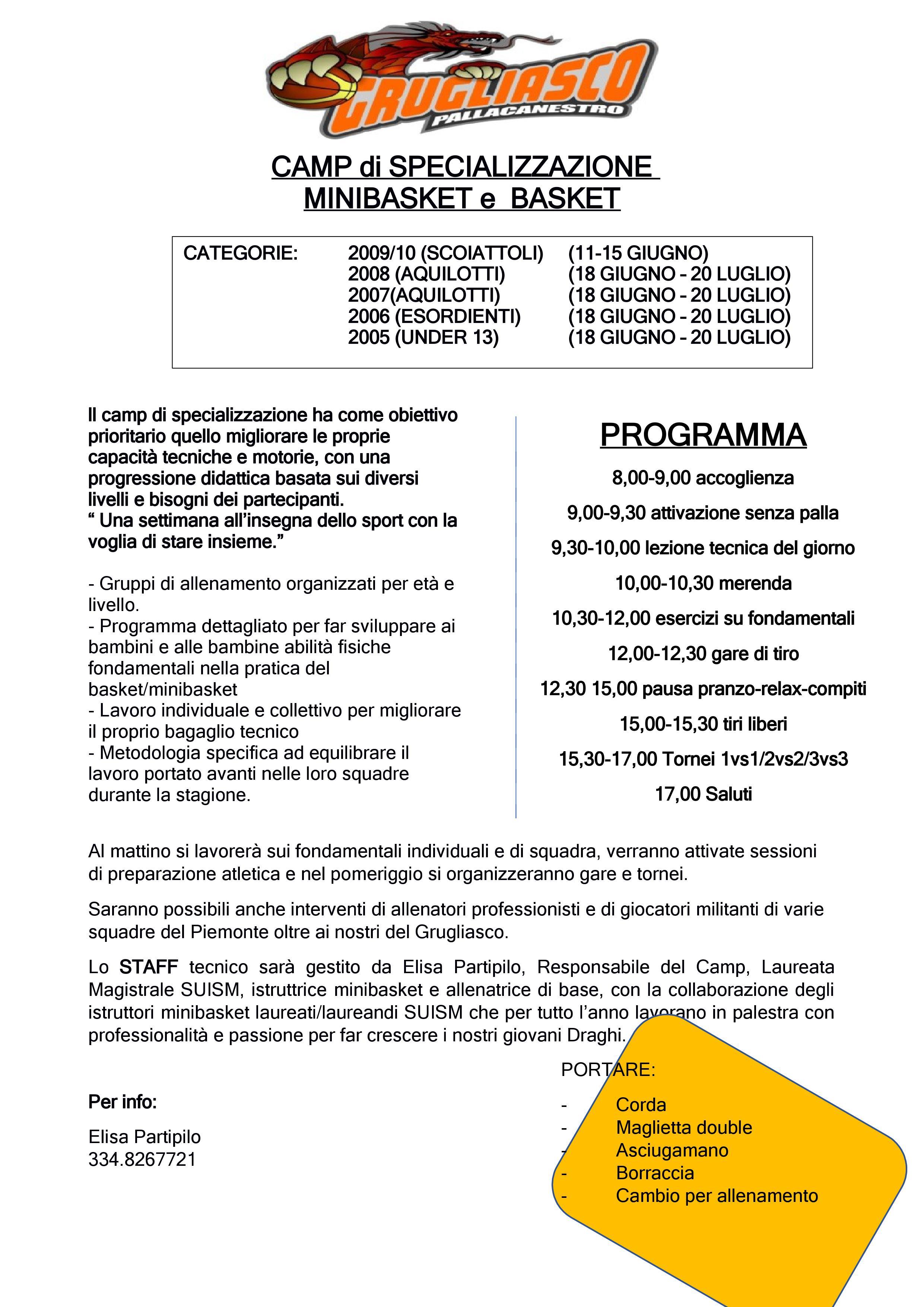 Festa finale Trofeo Grugliasco