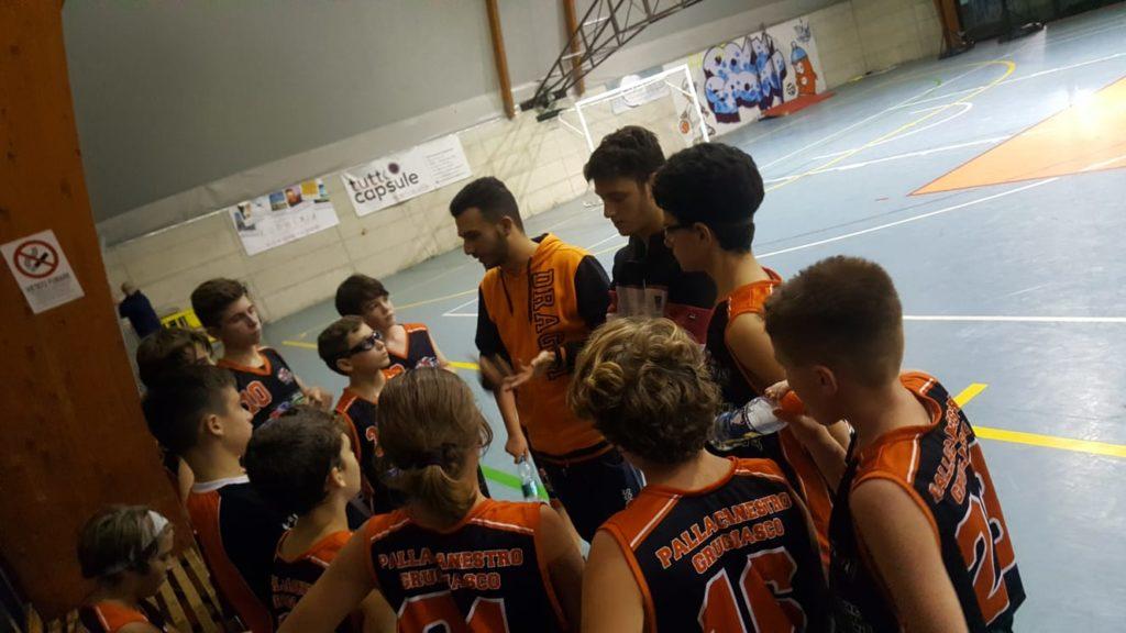 U13 Regionale: Prima sconfitta